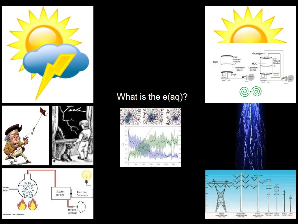 Low Energy Pair Production, Excess Aqueous Electron, Photon-Electron Conversion, Creating New Electrons, Electricity From Water